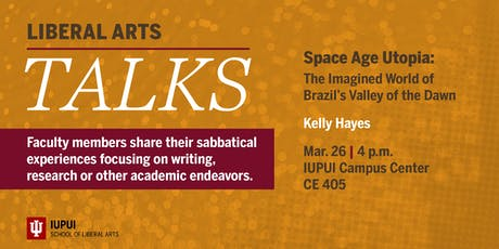 Liberal Arts Talks: Space Age Utopia by Kelly Hayes tickets