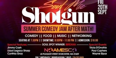 "SOUL MIC ""SHOTGUN"" SUMMER COMEDY JAM  AFTER MATH"