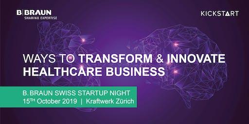 B. Braun Swiss Startup Night