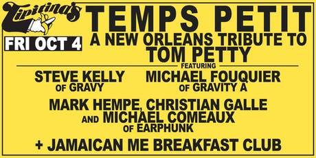 Temps Petit - A New Orleans Tribute To Tom Petty tickets