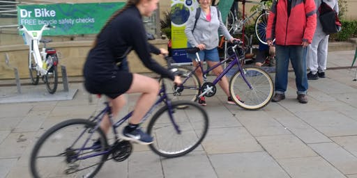 Free Group Bike Ride 2 Start at Sinfin Library (CML)