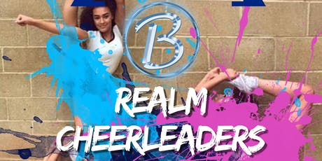 Blue Realm Cheerleaders FREE CLASS tickets