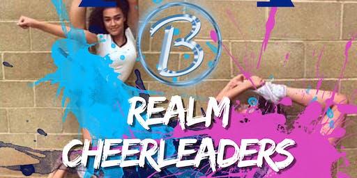 Blue Realm Cheerleaders FREE CLASS