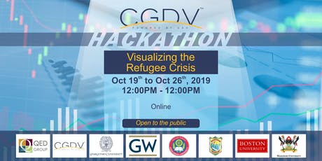 Online Data Visualization Hackathon: Visualizing the Refugee Crisis tickets