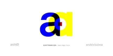 Presentazione nuovo Archiui | Lancio Archivissima 2020 biglietti
