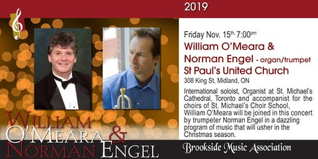 William O'Meara & Norman Engel - organ/trumpet tickets