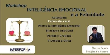 Workshop: Inteligência Emocional e a Felicidade ingressos