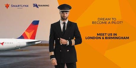 Dream to Become a Pilot? Join SmartLynx Cadet Program! tickets
