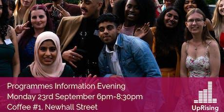 Leadership and Environmental Leadership Programmes Information Evening! tickets