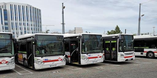 Rencontres Carré de Soie dépôt bus TCL