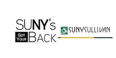 SUNY's Got Your Back at Sullivan