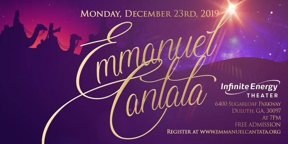 Christmas Cantata.Emmanuel Christmas Cantata Tickets Mon Dec 23 2019 At 7