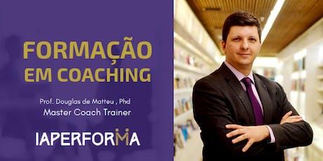 NOVA Formação Professional & Leader Coach *Certificação Internacional* IAPerforma Turma 49 ingressos