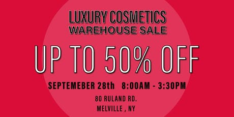 Special Invitation Warehouse Sale - SEPTEMBER 28, 2019 tickets