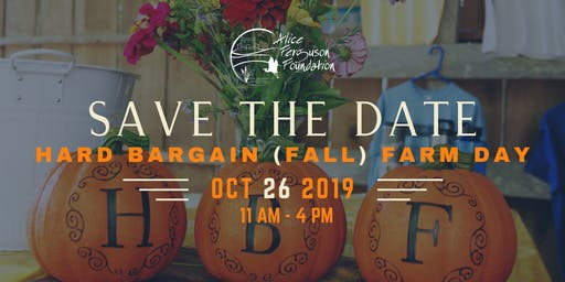 Hard Bargain Fall Farm Day