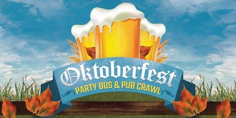 OKTOBERFEST PARTY BUS & PUB CRAWL tickets