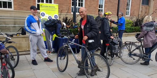 Free Group Bike Ride 3 Start at Trocatdero Court , Normanton Road