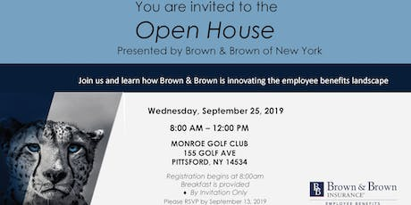 Open House Presented By Brown and Brown of New York tickets