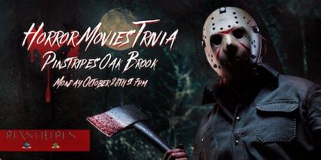 Horror Movie Trivia at Pinstripes Oak Brook tickets