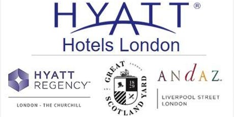 Hyatt London Hotels | Recruitment Fair tickets