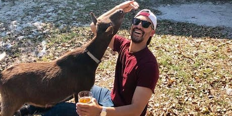 Gulps & Goats Happy Hour with GOATS - 10/19/19 - Cage Brewing St. Pete tickets