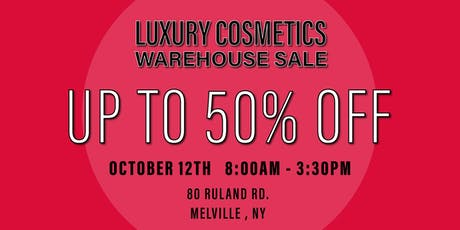 Special Invitation Warehouse Sale - OCTOBER 12TH tickets