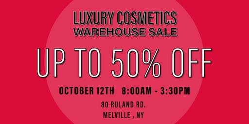 Special Invitation Warehouse Sale - OCTOBER 12TH