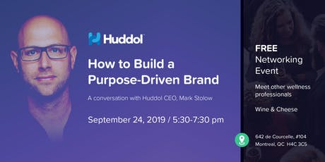 How to build a purpose-driven brand for wellness professionals tickets