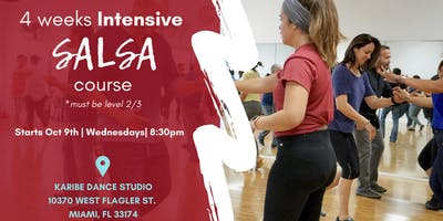 4 Weeks Intensive Salsa course