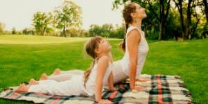 Yoga parent-enfant en forêt (4 à 7 ans)