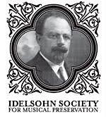 Idelsohn Society for Musical Preservation  logo