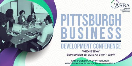 Pittsburgh Business Development Conference tickets