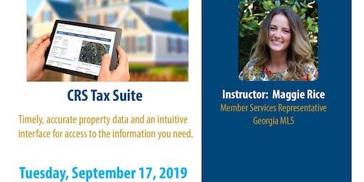 CRS Tax Suite (3HR CE)