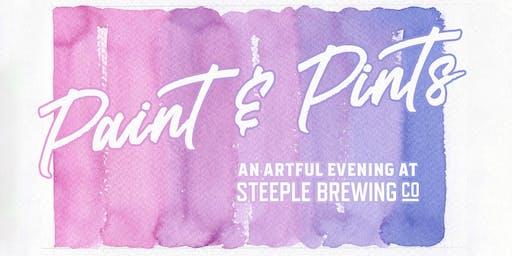 Paint & Pints @ Steeple