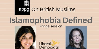 APPG on British Muslims: Islamophobia Defined - Fringe Session