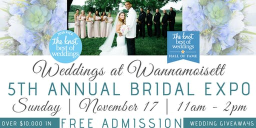Wannamoisett Country Club's 5th Annual Bridal Expo