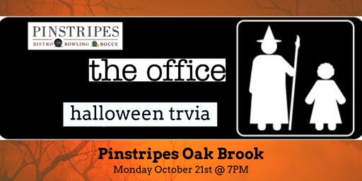 The Office Halloween Episodes Trivia at Pinstripes Oak Brook