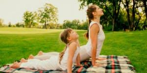 Yoga parent-enfant en forêt (8 à 12 ans)