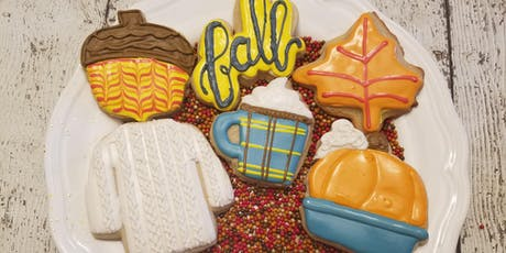 J&D Cellars Fall Sip and Decorate cookie class tickets