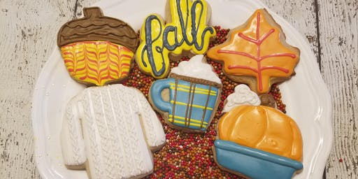 J&D Cellars Fall Sip and Decorate cookie class