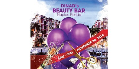 DinaD's Beauty Bar Grand Opening tickets