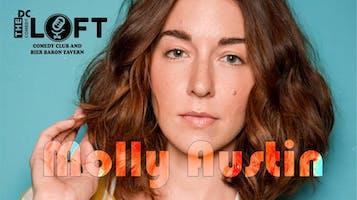 Comedian Molly Austin