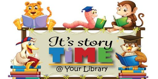 Storytime Wednesday, September 18th