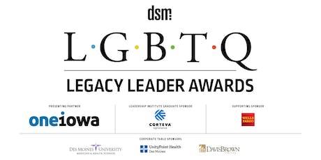 LGBTQ Legacy Leader Awards Reception tickets