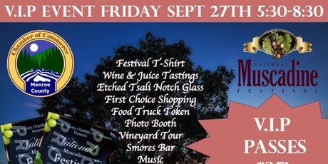 V.I.P FRIDAY Night - National Muscadine Festival tickets
