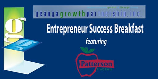 GGP Entrepreneur Success Breakfast - Patterson Family Fruit Farm
