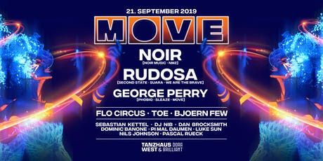 MOVE with NOIR, Rudosa, George Perry Tickets