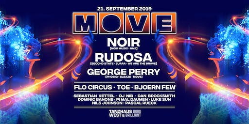 MOVE with NOIR, Rudosa, George Perry