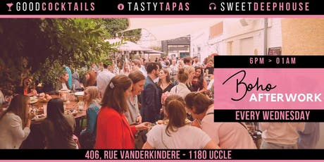 Boho Uccle Afterwork • Every Wednesday tickets