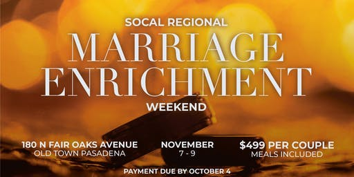 Region - Marriage Retreat